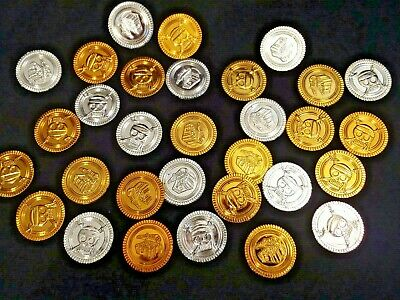 Collectable Double-sided Silver Treasure Chest Coin X2 Exonumia Coins & Paper Money