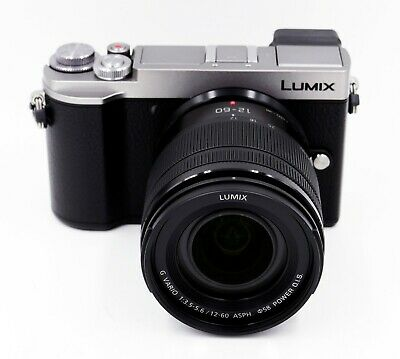 Panasonic Lumix-G DC-GX9M Silver Body w/12-60mm Lens New IN Box FREE SHIPPING!!!