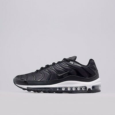 """4a3ea205d3de ... SE TN Tuned 1 Taped Pull Tab Black White Reflective AQ4128-001.  129.99  Buy It Now 15d 8h. See Details. Nike Air Max Plus 97 """"Tune Up"""" Black white  ..."""