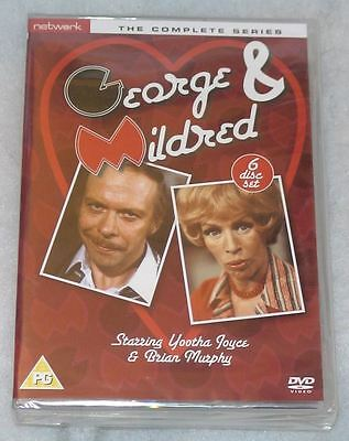 George And Mildred - Complete Series 1,2,3,4,5 Box Set - 6 DVDs - NEW & SEALED