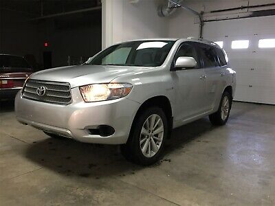 2009 Toyota Highlander Hybrid 2009 Toyota Highlander Hybrid 4WD Low Miles 7 Seat Clear CA Title No Reserve