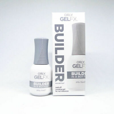 ORLY Gel FX Builder in A Bottle Soak-Off Sculpting Gel For Nail Extension 0.5oz