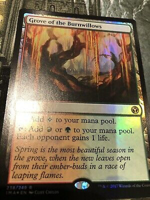Near M Playset Iconic Masters x4 cards Magic MTG Grove of the Burnwillows