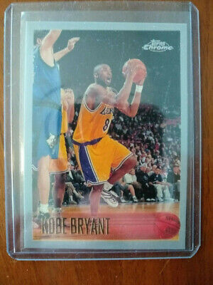 Kobe Bryant Topps Chrome 01 02 Fast And Furious Refractor