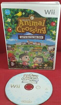 Animal Crossing: Let's Go to the City (Nintendo Wii) VGC