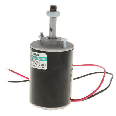 DC 12V 3000RPM Permanent Magnet DC Electric Motor High Speed CW/CCW