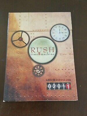 Rush Time Machine - Live in Cleveland (DVD, 2011)