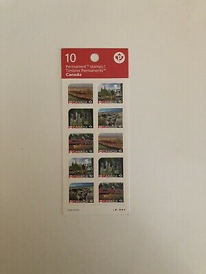 2017 Unesco World Heritage Sites In Canada Booklet 10 Mint P Stamps Landmarks