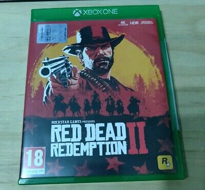 Red Dead Redemption 2 xbox one come nuovo