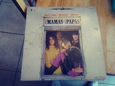 2a491ca701 Vintage Self Titled The Mamas & The Papas Lp (1966 Dunhill Records 50010)