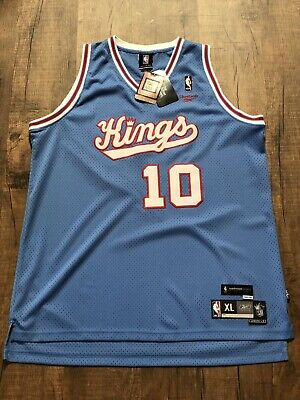 813bb76cdf6b Sacramento Kings Mike Bibby Reebok NBA Hardwood Classics Jersey Men s XL  New NWT