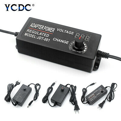 adjustable power supply chargers dc 1v-36v 100v-240v Converter adapter switching