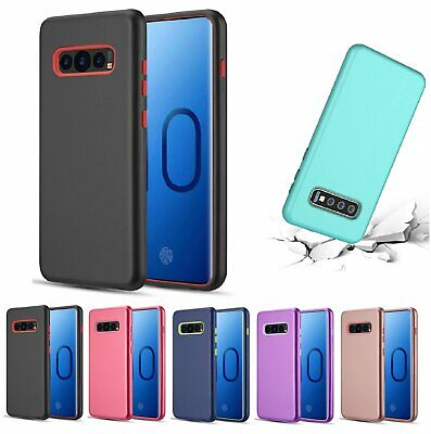 For Galaxy S10e / S10 / S10 Plus Case Cover Shockproof Hybrid Rugged Rubber