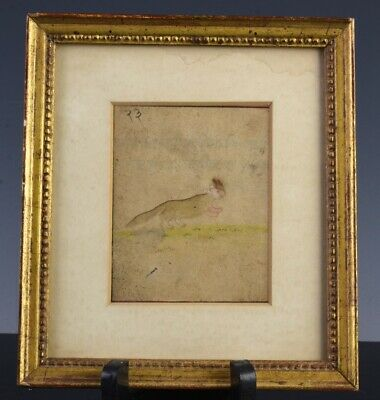 Early Middle East Ottoman Antique Animal Painting Manuscript Signed