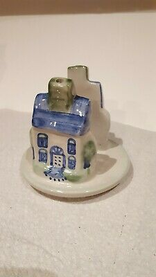 M.a. Hadley Pottery House Napkin Holder