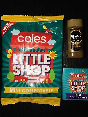 Coles Little Shop Mini Collectables-Nescafe Coffee