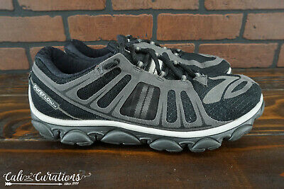 9451652f0b0 VGC! Brooks Pure Flow 2 Mens Size 9 Running Shoes NO INSOLES Black Gray