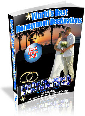 World's Best Honeymoon Destinations Pdf Ebook Free Shipping Resale Rights