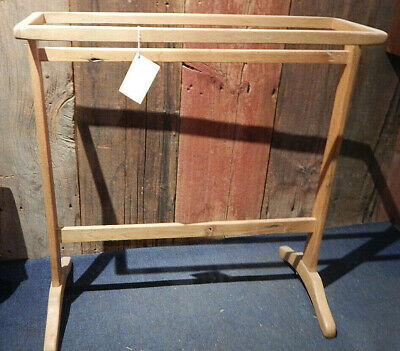 Reproduction Vintage Shaker Style Wooden Chestnut Drying/Quilt Rack Cica 1800's