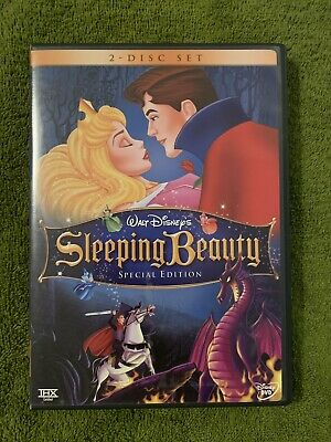 Sleeping Beauty (DVD, 2008, 2-Disc Set, Platinum Edition) Free Shipping!