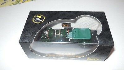 Bentley Speed six   n° 1  Le Mans 1929     Ixo models  LMC020  1/43