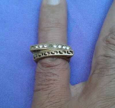 ancient roman bronze ring rare type
