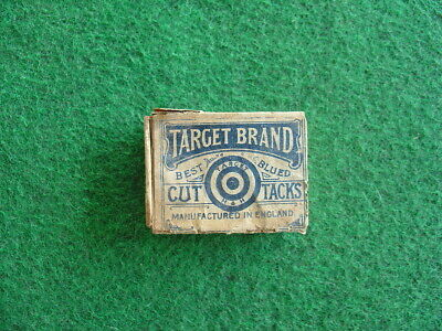 Vintage 30's Target brand tack box /packaging/grocery/retro
