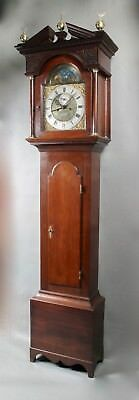 George 3 (1738-1820) Original Signed Oak Scottish Longcase Clock