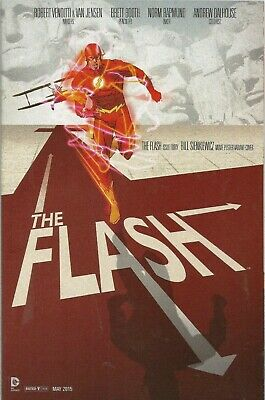 Free P & P - Flash  #40- 'Movie Poster'  Variant Cover!