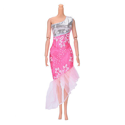 "Fashion Beautiful Handmade Party Clothes Dress for 9""  Doll Mini NT"