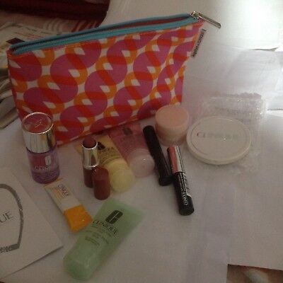 Clinique Bonus Time Set/10-ItemS+Bag/HOLIDAYS/BIRTHDAY/PARTY/Travel/Easter/Gift.