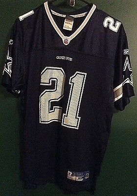 best loved 6dc0f a2528 J JONES DALLAS Cowboys Reebok Throwback Vintage Jersey XL ...