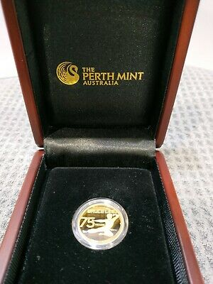 2015 Bruce Lee 75th anniversary $25 gold proof coin Perth Mint