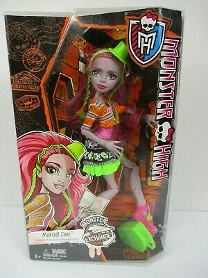 Monster High Marisol Coxi Doll Monster Exchange Daughter of S American Bigfoot