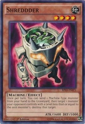 x3 Punch-in-the-Box Common 1st Edition Yu-Gi-Oh MP15-EN180 M//NM