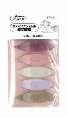 Clover tatting shuttle Flora Free Shipping with Tracking number New from Japan