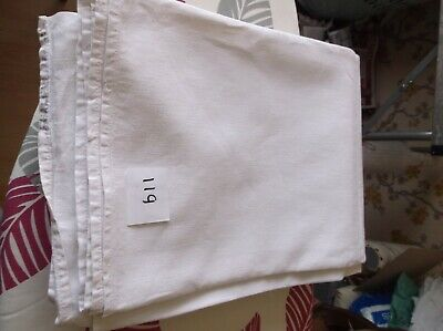 Vintage French Linen/ Metis Sheet  - 2.02mW x 3.11mL
