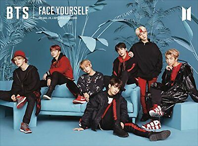 BTS FACE YOURSELF First Limited Edition Type C CD Photo booklet UICV-9279 F/S