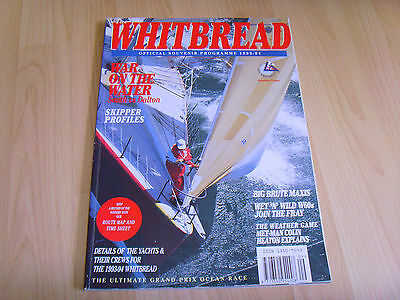 Whitbread Round the World The Official Race Souvenir Magazine Sailing 1993-94