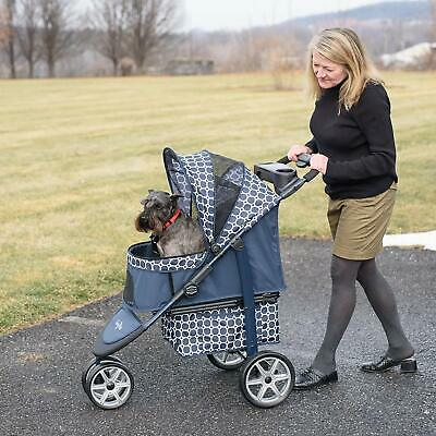 Gen7Pets Monaco Aluminum Lightweight stroller for pets up to 50 lbs. in 2 colors