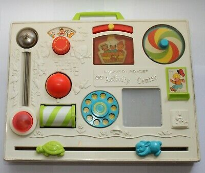 Fisher Price Activity Centre  #134 - Vintage