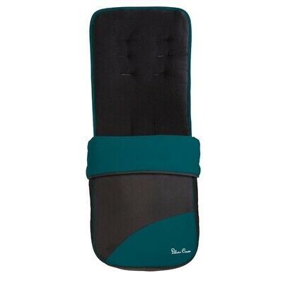 Silver Cross Pop Foot Muff Teal/Black RRP 50 ALMOST 1/2 PRICE 1 ONLY HURRY X:-)