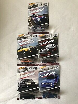 Hot Wheels Modern Classics Set 1:64; 5 Cars / Autos Car Culture !