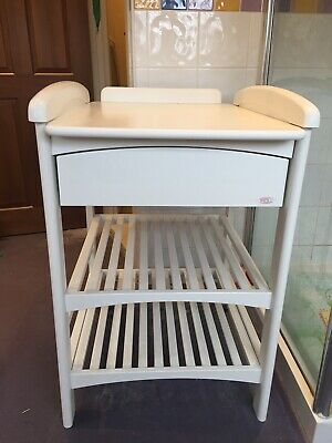 Baby Changing Table ~ Troll ~ White Wood