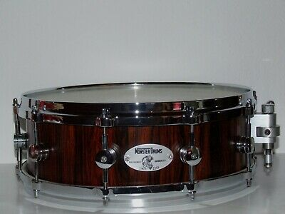 Monsterdrums Custom Snare Drum Cocobolo Holz 14x5 One of A Kind NEU !!!