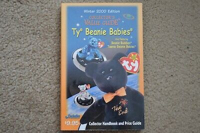 TY Beanie Babies Retired Collector's Value Guide Winter 2000.