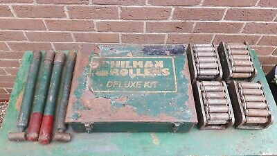 Hilman Hillman Deluxe 8 ton Rollers Equipment machinery Skates Set