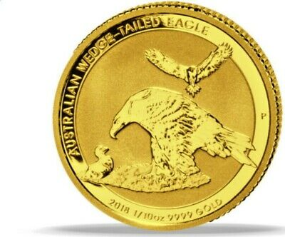 Australien 1/10 oz Gold Wedge-Tailed Eagle 2018 Extrem selten!! Top Gelegenheit!