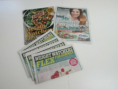 Weight Watchers Flex For Summer Daily Mail Pullouts - Recipes, Tips, Meal Diary