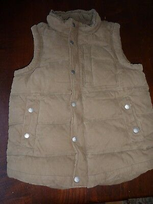 Fat Face Age 12-13 Yrs Khaki Green Quilted Bodywarmer/Gilet